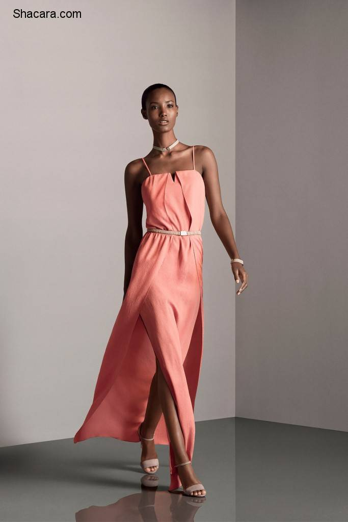 Fatima Siad Slays Halston Heritage's  Collection in Style