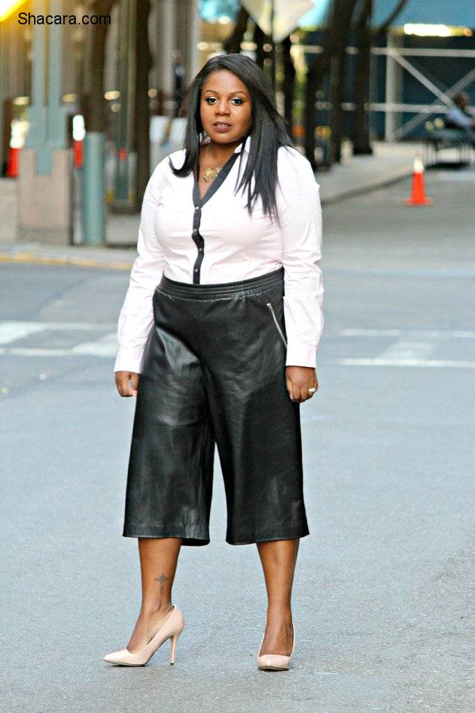 6 CUTTING EDGE PLUS SIZE WORK OUTFIT