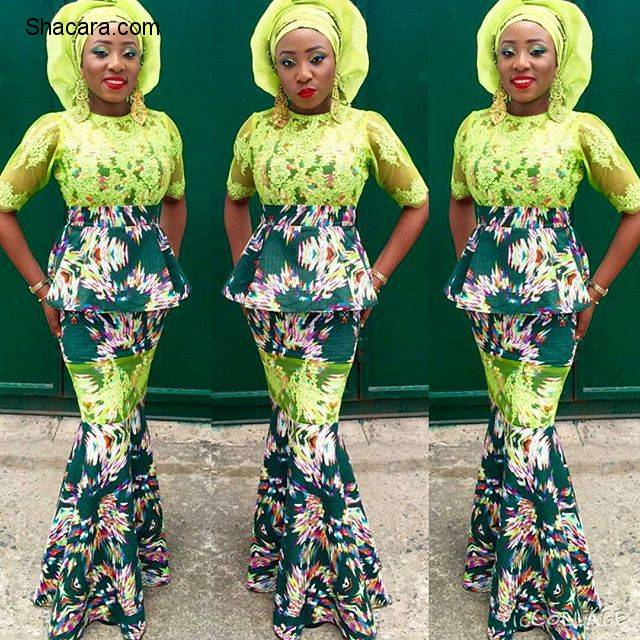 TURN-UP TRENDY IN ONE OF THIS SEXY ANKARA STYLE.