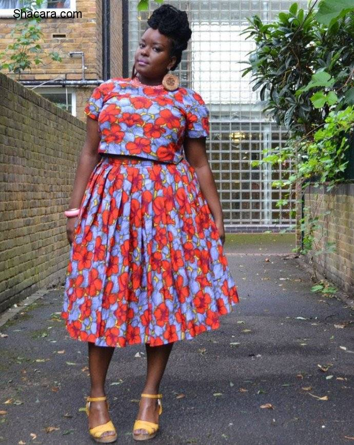 FLORAL PRINT IDEAS FOR THE PLUS-SIZE.