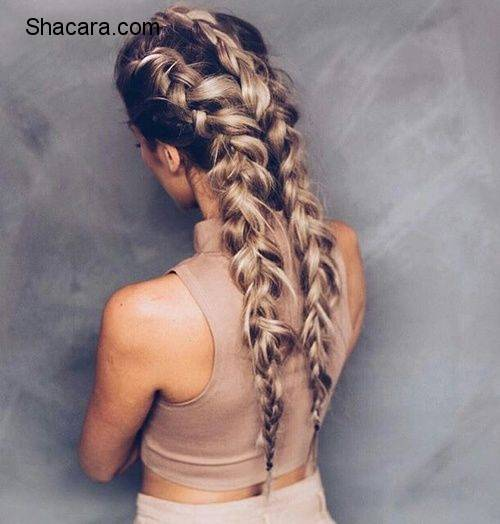 THE DUTCH BRAID HAIRSTYLE IS OUR LOOK FOR THE WEEK