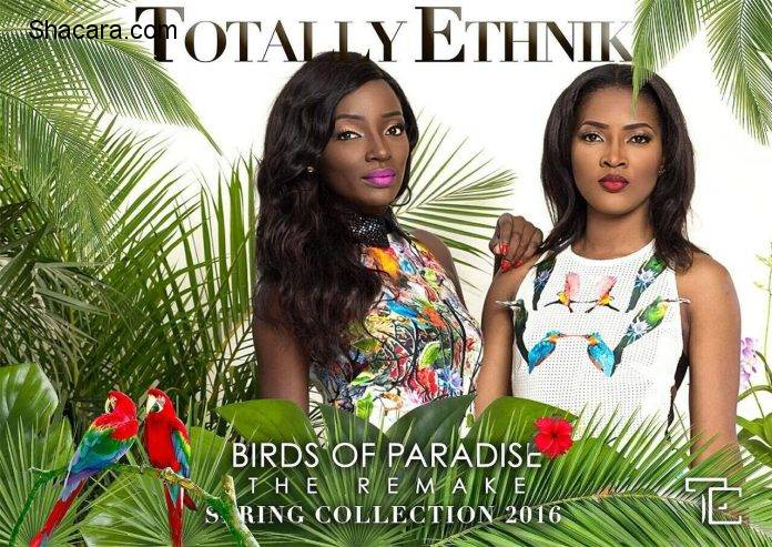 "Totally Ethnik Presents ""Birds of Paradise, The Remake"" Look Book"