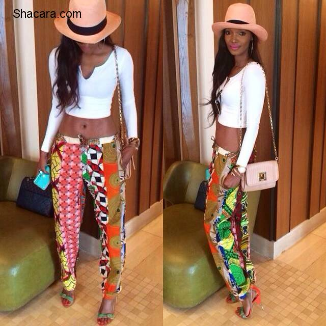 Street Style Of The Day – African/Ankara Prints Pants