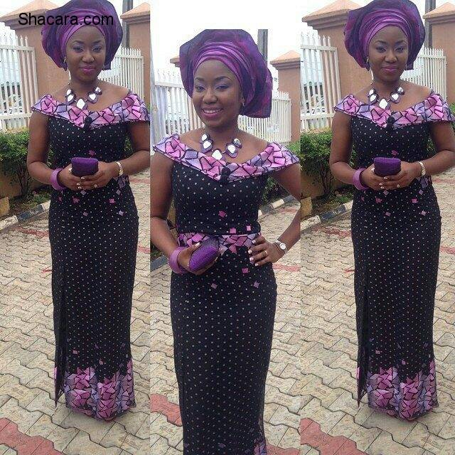 WAY TO GO IN FASHIONABLE ASO EBI STYLES THIS WEEKEND