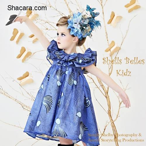 #ChildrensDay: Shells Belles Kidz Introduces Its Summer Collection