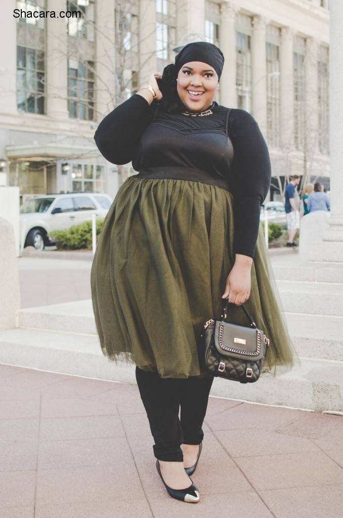 CHIC PLUS-SIZE RAMADAN OUTFITS