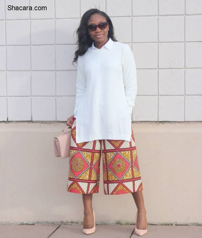 THE MUST-HAVE STYLISH ANKARA CULOTTES