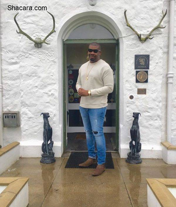 Don Jazzy Has Been Keeping It Casual Cool Lately