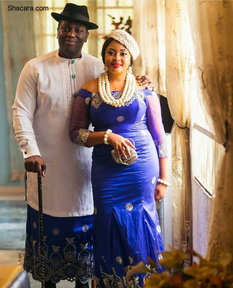 TRADITIONAL WEDDING ATTIRE: COUPLE CORDINATION