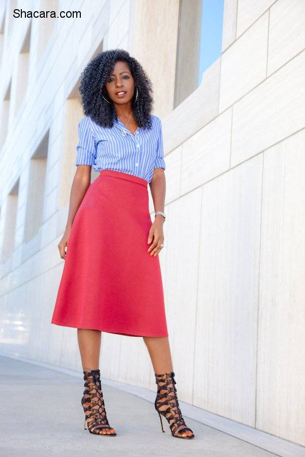 THE FEEL-GOOD OUTFITS TO GET YOU EXCITED AT WORK THIS TIME