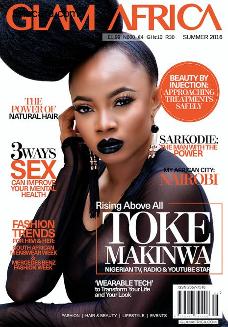 MORE PICTURES FROM TOKE MAKINWA'S GLAM MAGAZINE PHOTO-SHOOT
