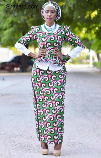 Conservative Styles For The Modest African Fashion Print Lovers