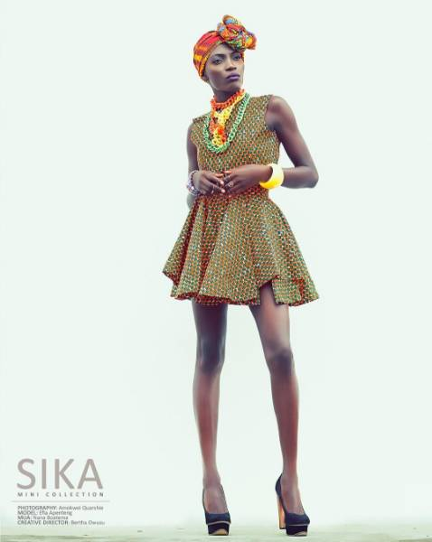 Ghana's Lumiere Couture Presents The African Print Filled 'Sika' Collection