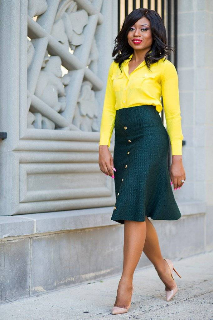 6 SIMPLE TIPS TO STYLING THE MIDI SKIRT