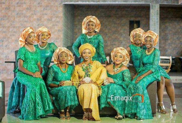 THE SUPER DOPE TRADITIONAL WEDDING OF DOLA AND FEMI
