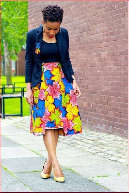 THE ANKARA STYLES YOU SHOULD ROCK AT WORK THIS WEEK
