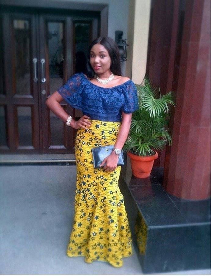 7 COOL ANKARA AND LACE DRESS STYLES