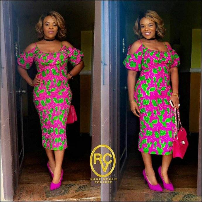 STEP OUT IN STYLE IN THESE WEDDING GUEST ANKARA STYLES