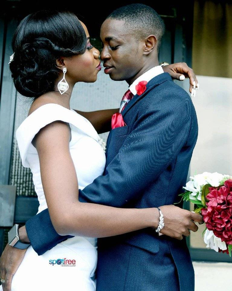 THE WEDDING PHOTOS DIARY OF TOMI AND SEGUN