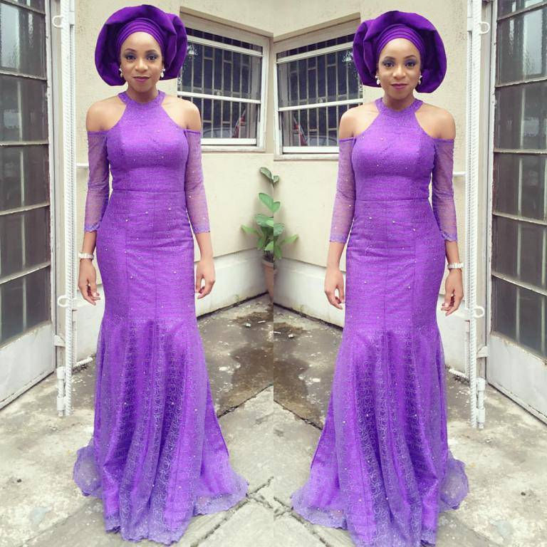 LATEST ASO EBI STYLES WE SAW AT THE NIGERIAN WEDDINGS