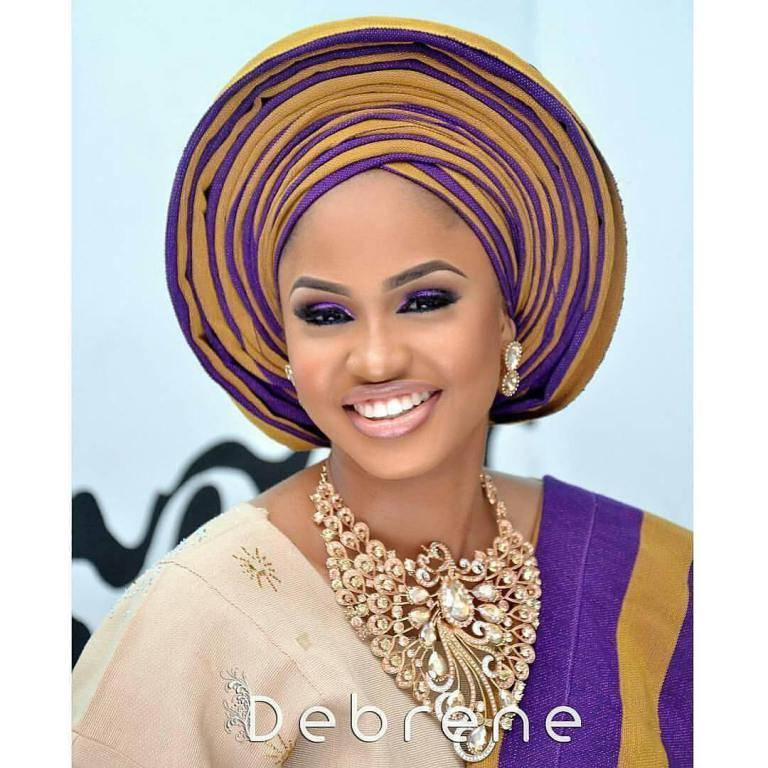 FABULOUS ASO OKE GELE PERFECT FOR THE STUNNING BRIDES