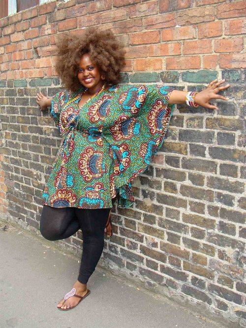FLATTERING ANKARA STYLES FOR PLUS-SIZE BEAUTIES