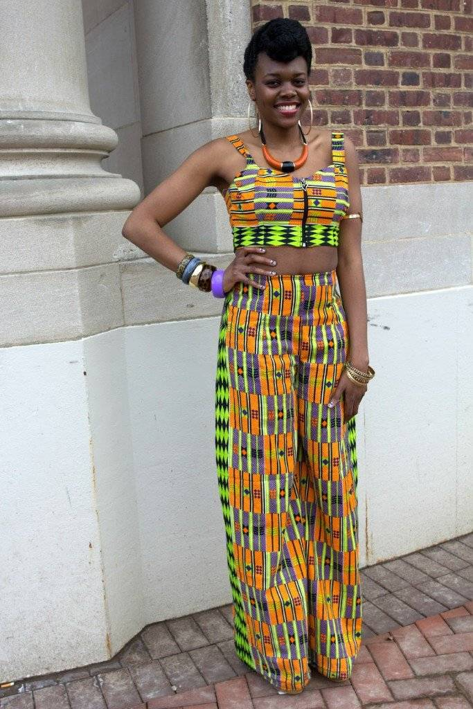 HOW TO STYLE WIDE-LEG ANKARA PANT