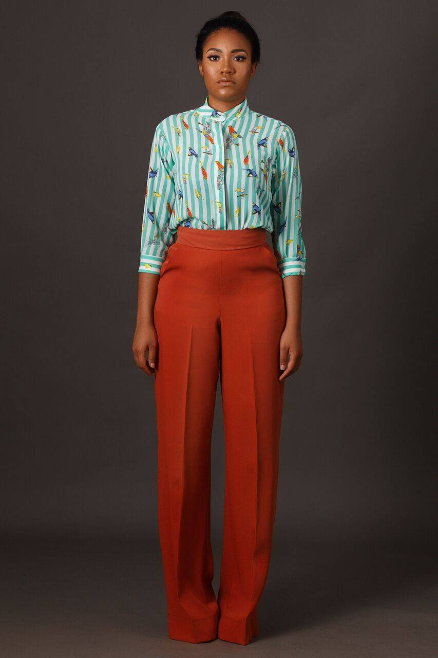 NIGERIAN DESIGN LABEL, VIRGO APPARELS TAPS FORMER MBGN ANNA BANNER EBIERE FOR IT'S SS16 COLLECTION