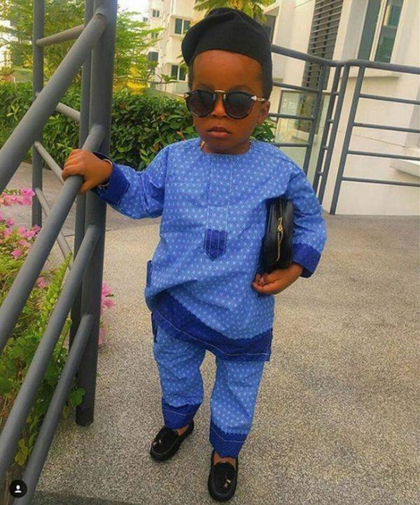 SEE HOW THE KIDS ROCK STYLISH OWANBE ASO EBI STYLES