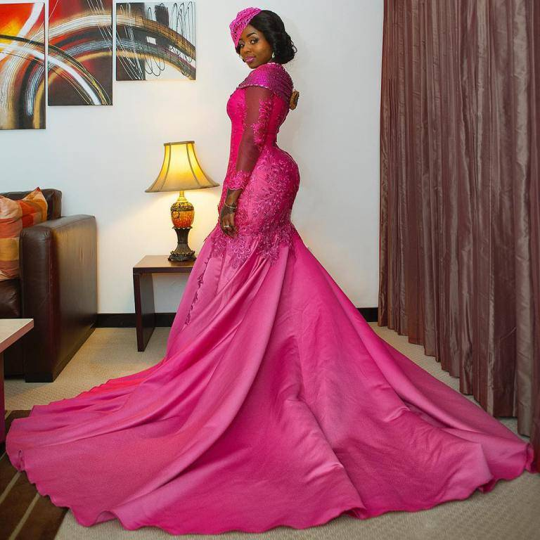 CHECK OUT THESE STUNNING RECEPTION DRESSES
