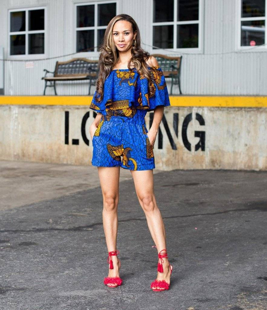 THE ANKARA PLAYSUIT SHOULD BE YOUR FRIDAY NIGHT STYLE PICK