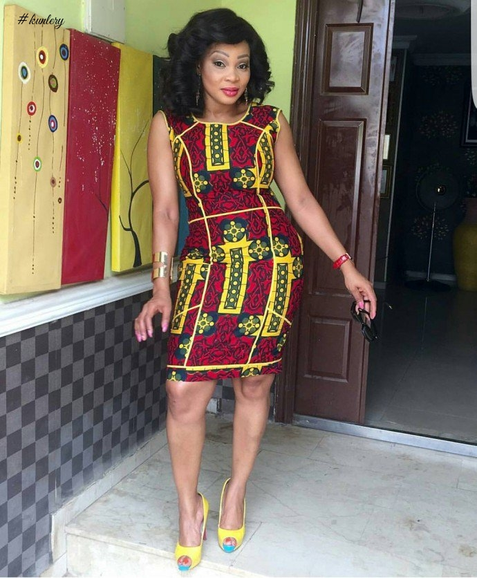 THE SCARLET RED ANKARA LOOKS TO SEE THIS 'EMBER' MONTH