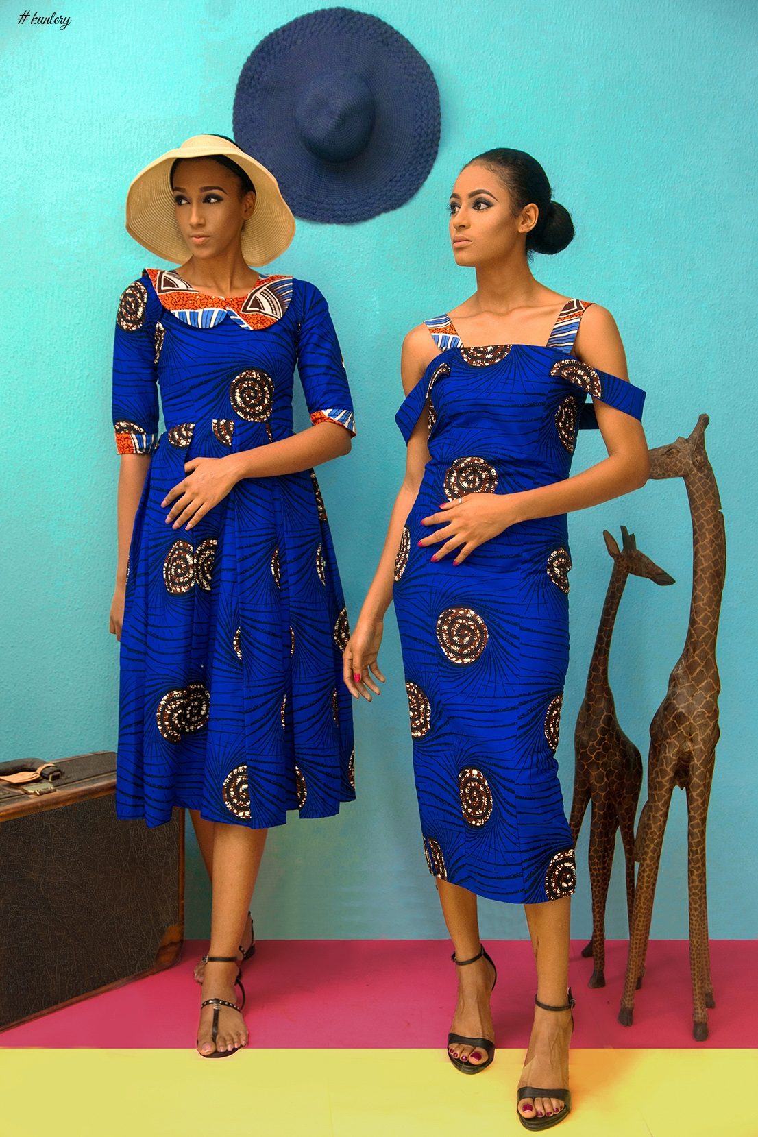 Bold African Prints! Introducing Womenswear Brand BenRia's Debut Collection