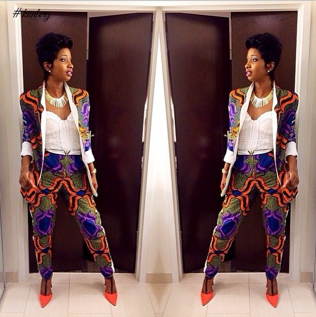 THE CREATIVE ANKARA TROUSER SUITS YOU NEED TO SEE NOW