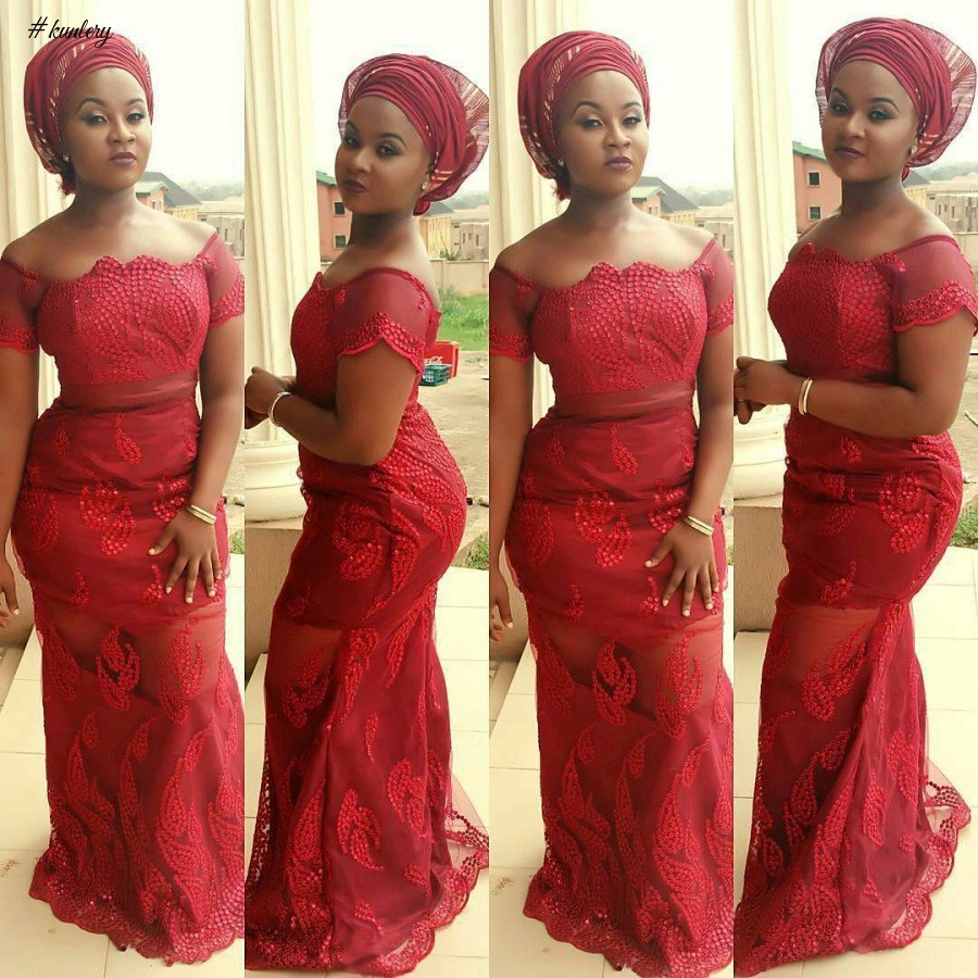 WINE ASO EBI STYLES THAT ARE FABULOUS