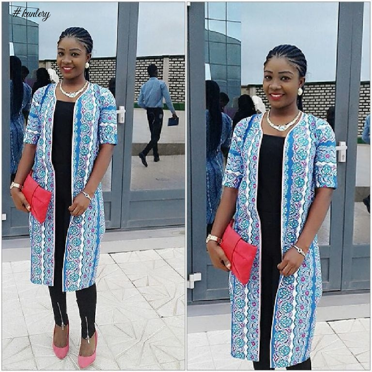 Weekend Fashion Trend Ankara Kimono For The Fashion Lovers