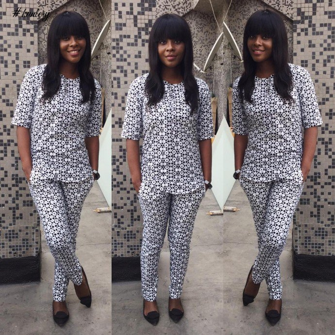 THE MONOCHROME BLACK AND WHITE ANKARA PRINTS YOU SHOULD SEE
