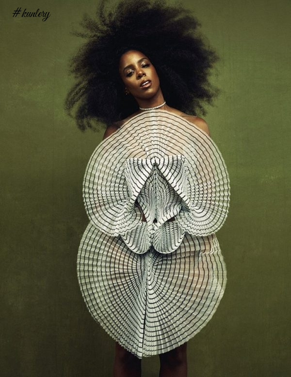 Kelly Rowland Stuns Effortlessly For Schon Magazine