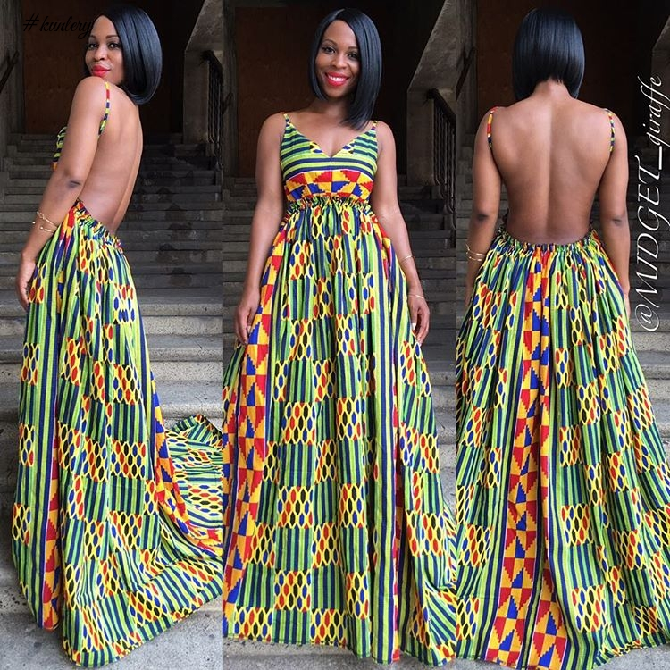 ANKARA MAXI GOWNS AT ITS BEST