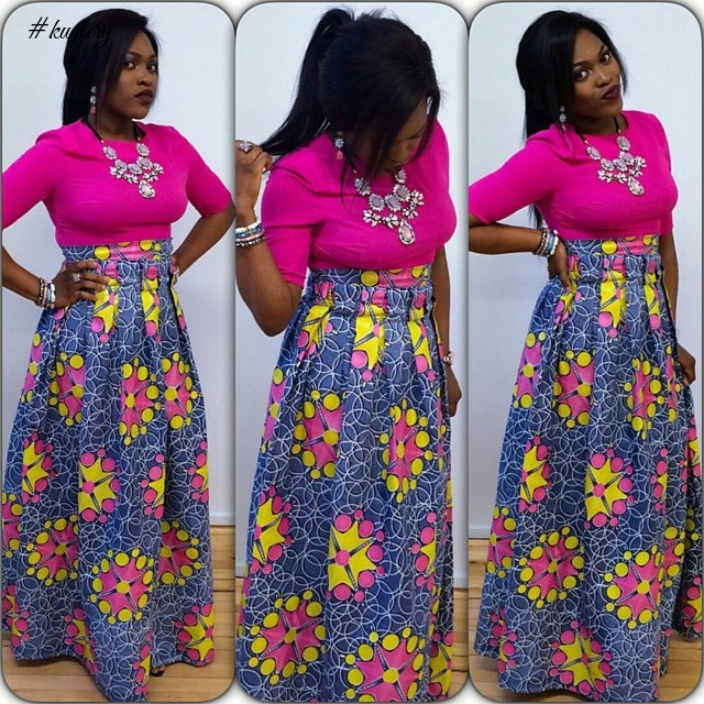 SIMPLE YET CLASSY ANKARA STYLES FOR THE NEW WEEK