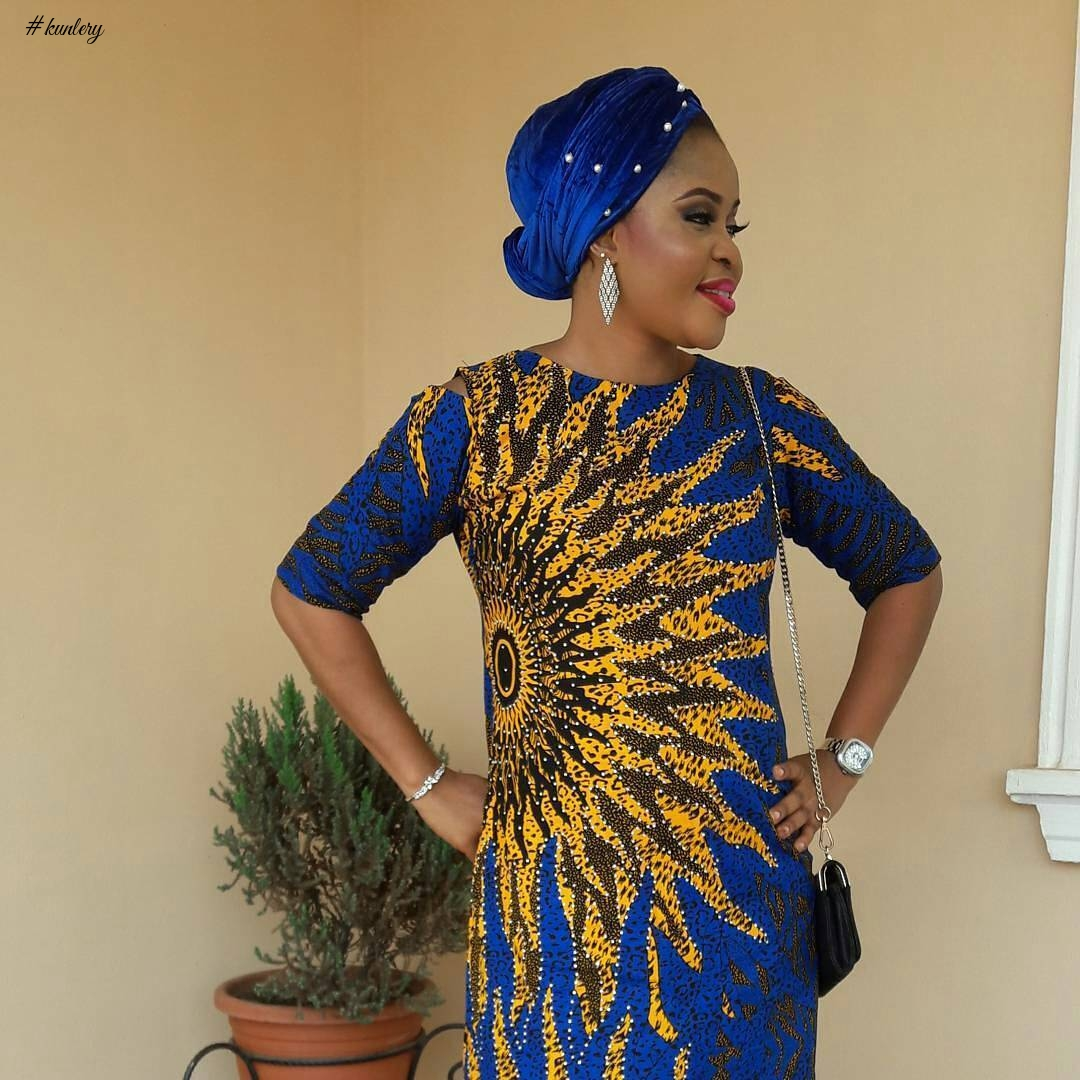 CHECK OUT THESE LATEST EYE POPPING ANKARA STYLES