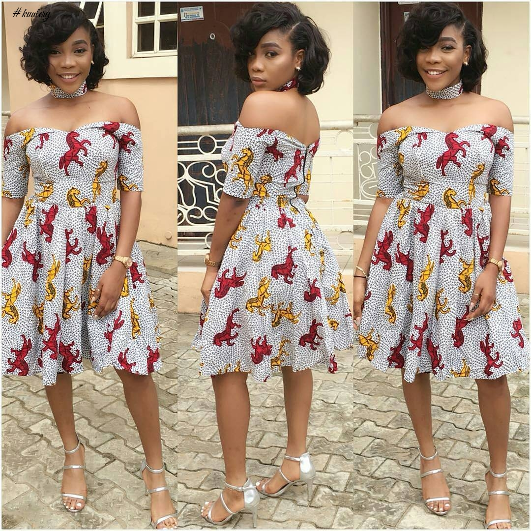 ENHANCE YOUR STYLE GAME IN THESE FAB LATEST ANKARA STYLES