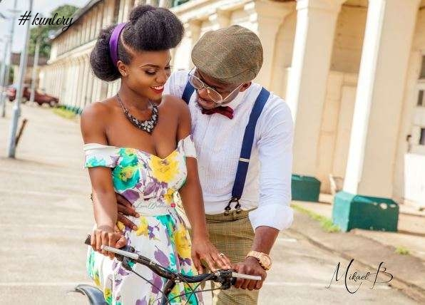 COMEDIAN EMMA OH MY GOD SHARES HIS PRE-WEDDING PICTURES