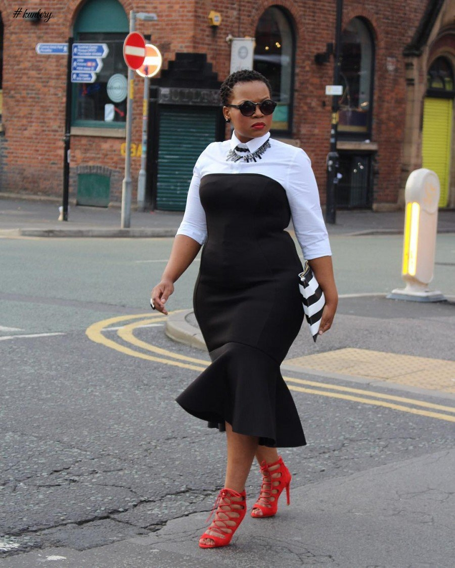 WORK OUTFITS FOR THE CURVY LADIES