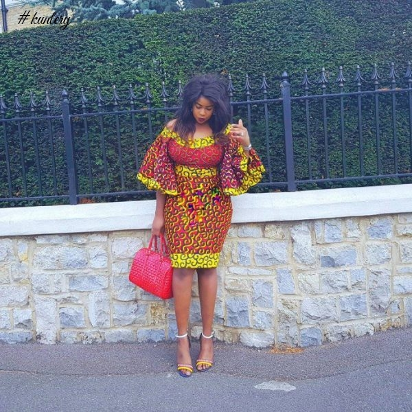 Flared Sleeves Are Becoming A Norm In African Print Fashion