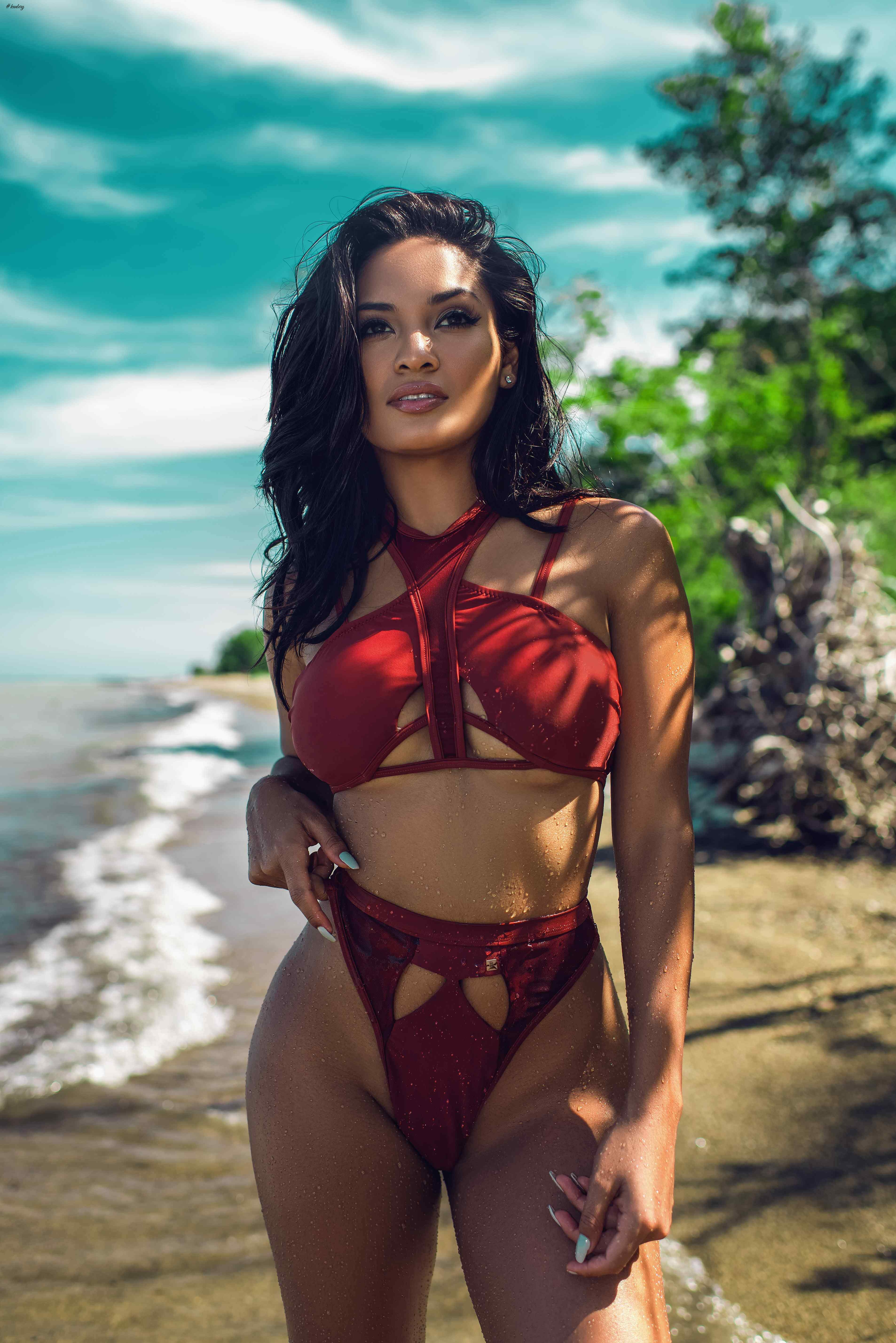 """BFYNE"", VIRGINIA BEACH BASED NIGERIAN LABEL DEBUTS ITS 2016 SWIMWEAR COLLECTION"