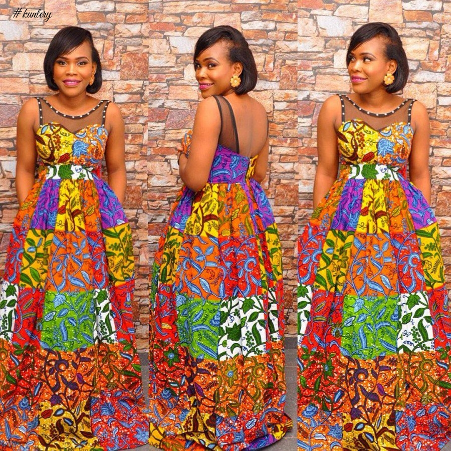 ANKARA STYLES FOR THE END OF THE YEAR OFFICE PARTY