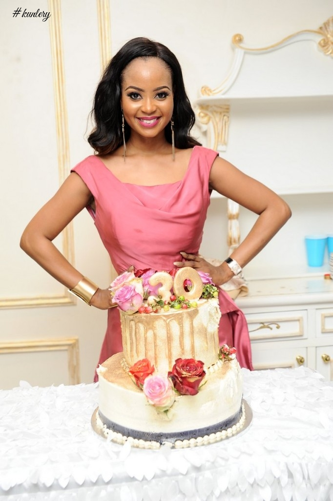 All the Photos from Omowunmi Akinnifesi's 30th Private Birthday Dinner