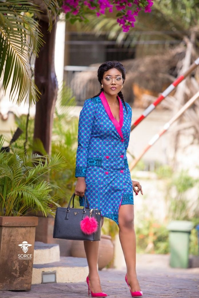 Akosua Vee Shows How Colourful You Can Be In Your Africa Prints Corporate Looks
