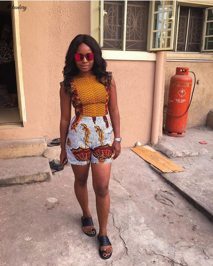 FANTASTIC ANKARA STYLES YOU SHOULD SE